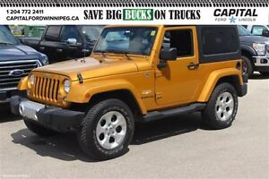 2014 Jeep Wrangler Sahara *PERFECT FOR WINTER-BEST DEAL IN MB*