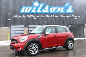 2015 MINI Cooper Countryman $78WK, 4.74% ZERO DOWN! S AWD! LEATH