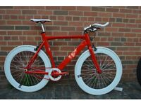 Aluminium 2016 model Brand new single speed fixed gear fixie bike/ road bike/ bicycles cde