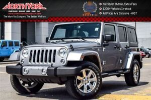 2016 Jeep WRANGLER UNLIMITED Sahara|4x4|Connectivity,DualTopPkgs