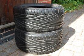 Pair of Uniroyal Rainsport 2 tyres 255/40 ZR 17W