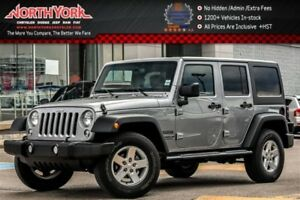 2016 Jeep WRANGLER UNLIMITED Sport 4x4|Connect.Pwr Convi.Pkgs|AC