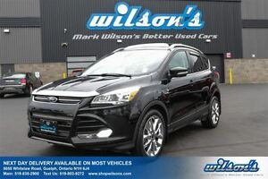 2015 Ford Escape TITANIUM 4WD! LEATHER TRIM! NAVIGATION! PANORAM