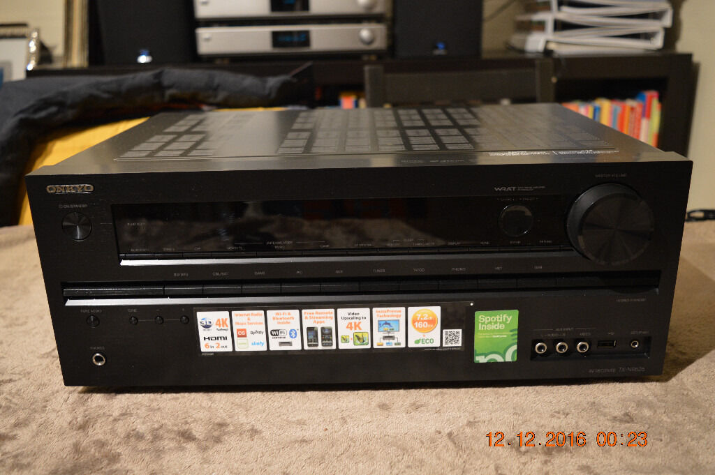 BRAND NEW - Onkyo TX-NR626 7 2-Channel Network A/V Receiver - WiFi  Bluetooth Spotify 160W/ch | in Woking, Surrey | Gumtree