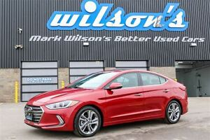 2017 Hyundai Elantra SE Limited! NAVIGATION! LEATHER! HEATED SEA