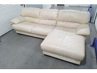 CSL - Real Leather L-Shape Corner Sofa
