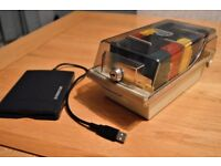 Freecom floppy disc external drive,discs and holder