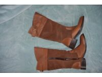 M&SPENCER size 7/40 real leather every day boots..