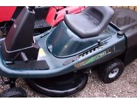 hayter heritage 10hp 30inch cut manual geared with collector