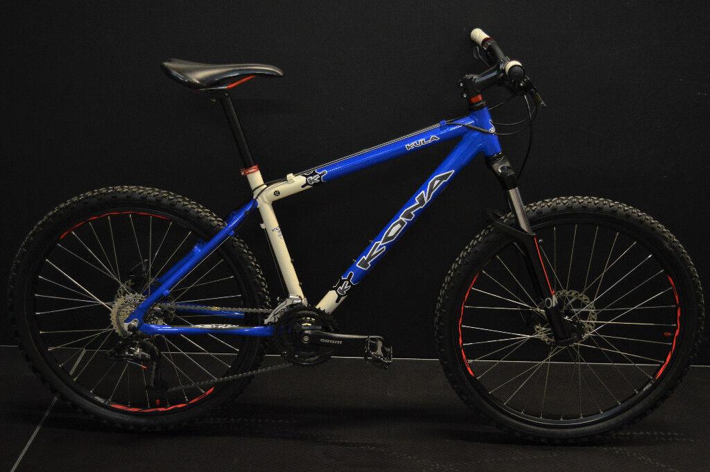 KONA KULA Mountain bike, 17 inch frame,High Quality, Condition almost NEW