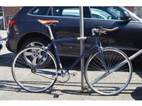 Brand new single speed fixed gear fixie bike/ road bike/ bicycles + 1year warranty & free service 1d