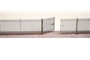 LASER CUT LINESIDE SECURITY FENCING OO SCALE / 1:76 MODEL RAILWAY - LX055-OO