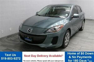 2013 Mazda MAZDA3 GX 5-SPEED HATCHBACK! 30,000KM! POWER PACKAGE!