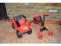 2 Children's ride on toys for sale in Twickenham. Never used outside