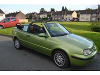 BARGIN !!! VW GOLF cabriolet - petrol