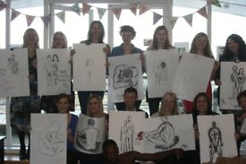 HEN LIFE DRAWING IN LONDON