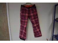 Oneill Pwes Summit Pants 9000334 4900 Pink Aop M