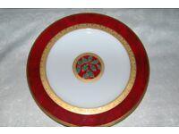 Beautiful Collectible Plates, Noritake 'Hemmingway', 2 x Limoges Chateau, & Meissen Bowl, Pristine.