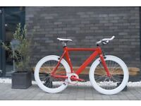 "Brand new NOLOGO ""X"" TYPE single speed fixed gear fixie bike/ road bike/ bicycles + 1year warranty k"