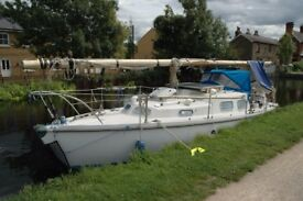 30' Sailing Boat– Canal Coastal River - London Live Aboard cheaper than a Narrow Boat
