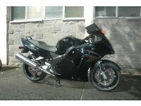 Honda Cbr1100 Blackbird, P Reg, 38,000 miles,