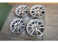 "Genuine Honda S2000 17"" Alloy wheels 5x114.3 Alloys AP1 AP2 Staggered"