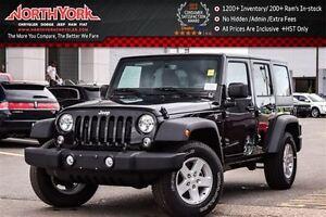 2016 Jeep WRANGLER UNLIMITED NEW Car Sport 4x4|AC|Power Convenie