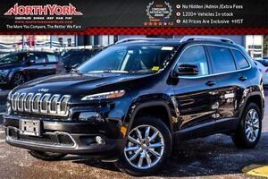 2017 Jeep Cherokee NEW Car Limited|4x4|Bluetooth|Nav|SatRadio|Ht