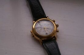 Poljot manual wind mechanical doctor's chronograph wristwatch - '90s- Cal 3133 - signed Time Chain