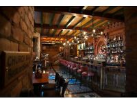 Barstaff required at Waxy O'Connors London
