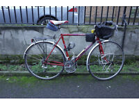 Peugeot Steel Rcer bike Carbolite upgraded with Shimano RSX gears Size 54cm