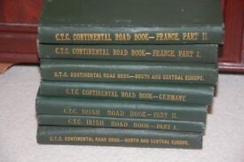 Historical 1890's CTC Continental Road Books with Map