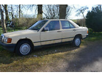 Mercedes 190 Saloon for Spares or repair