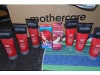 Red hair dye set
