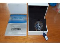Seiko SNDC33P1 - Mens Chronograph Watch