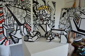 Artist looking for Exhibition opportunities and studio visits to my woking space