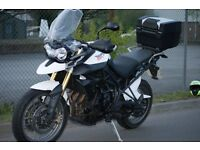 Triumph Tiger 800 XC. Excellent Condition. Low Milage, loads of xtras