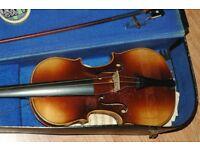 old Copy of Stradivarius Stradivarius 4/4 sized violin
