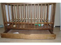 BABY COT WITH DRAWER