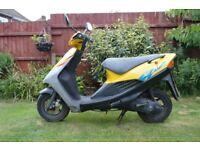 49cc Suzuki AP50 Motorcycle