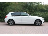 BMW 1 Series 2.0 118d Sport Sports Hatch (s/s) 5dr ( 67 reg ) only 6,000 miles - DIESEL - MINT CAR