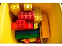 Two boxes of Lego Duplo
