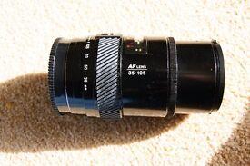 Minolta lens / Sigma lens