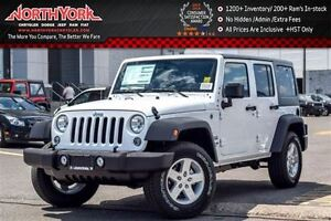 2016 Jeep WRANGLER UNLIMITED NEW Car Sport 4x4|Manual|Dual Top,