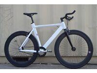 Brand new single speed NOLOGO ALUMINIUM fixed gear fixie bike/ road bike/ bicycles wp