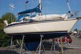 maxi 100 31 ft. sailing yacht