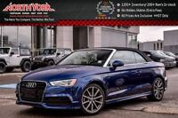 2015 Audi A3 2.0T Technik Cabriolet S-Line Quattro LED Lighting