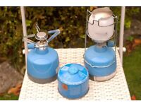 CAMPING GAS LANTERN AND STOVE