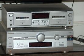 panasonic amp recover and double tape player