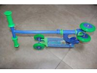 KID'S SCOOTER BLUE/GREEN